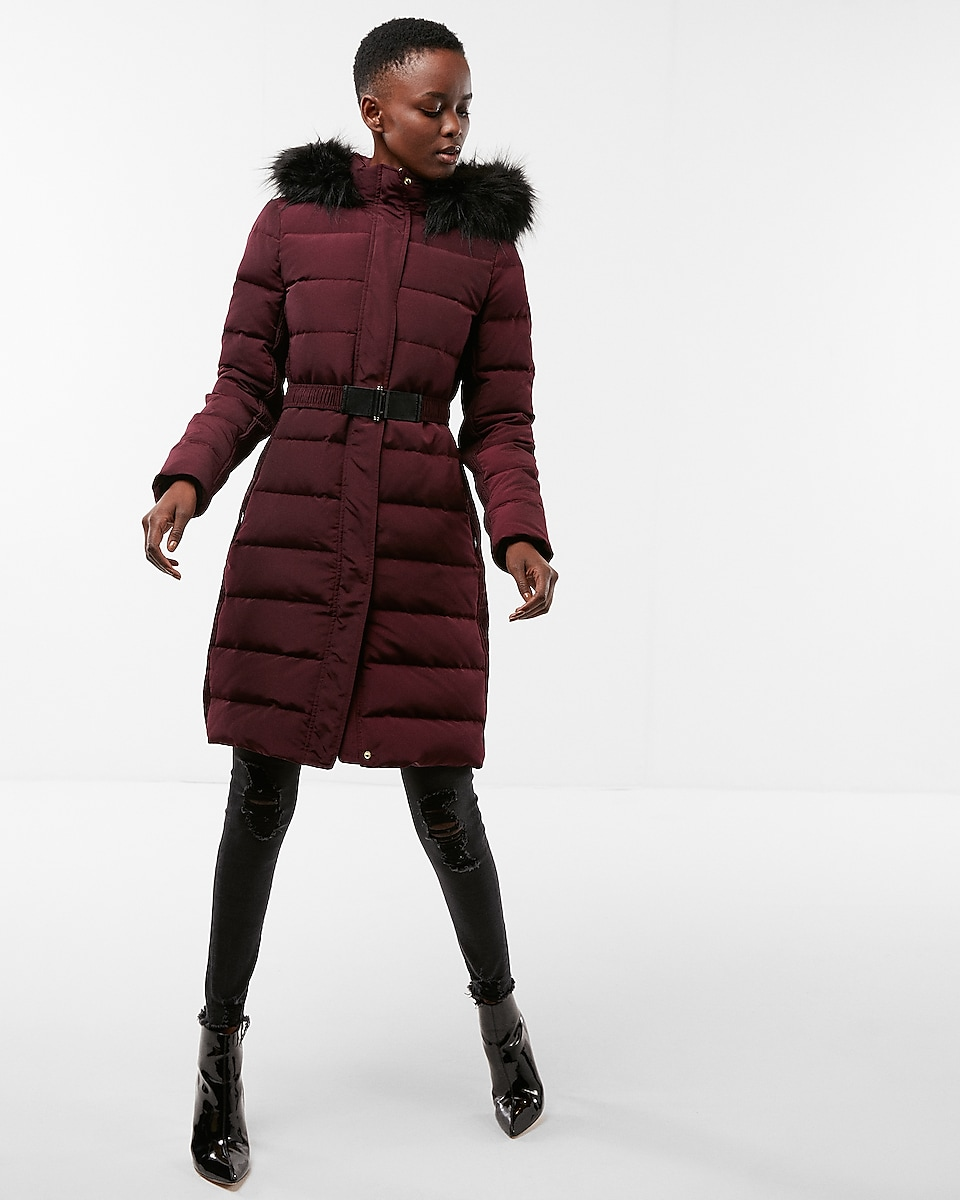 Women's Coats - Trench, Puffers and Fux Leather