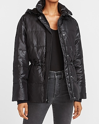 Express Women's Puffer Jackets and Faux Fur Coats (various styles/sizes)