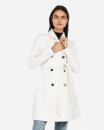 d78b63f7cc8 Express View · belted wool blend trench coat