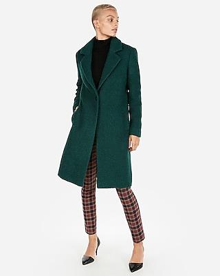 petite boucle cocoon coat