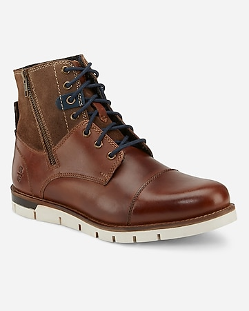 Reserved Footwear Tan Rossmore Boot by Express