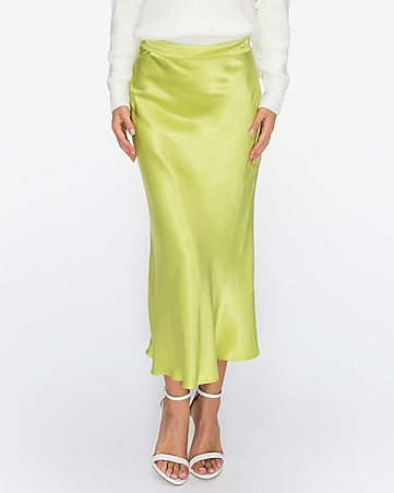 english factory midi flare skirt