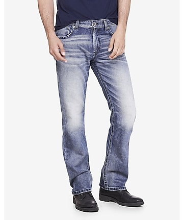 Straight Leg Classic Fit Jean | Express