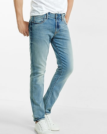 Slim Leg Slim Fit Performance Stretch Jean | Express