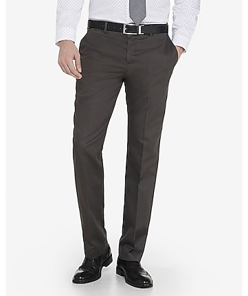 slim photographer oxford dress pant