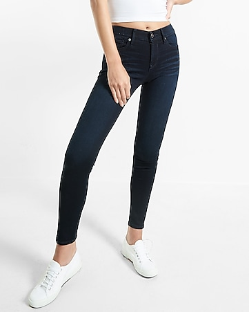 mid rise stretch+supersoft jean legging