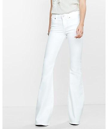 White Flare Pants | Pant So
