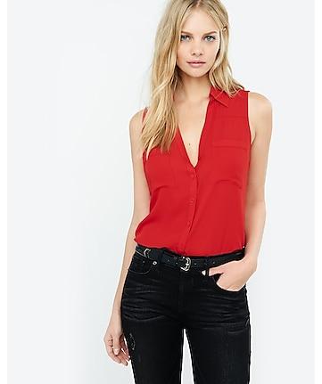 2606f89b0c68c Slim Fit Sleeveless Portofino Shirt